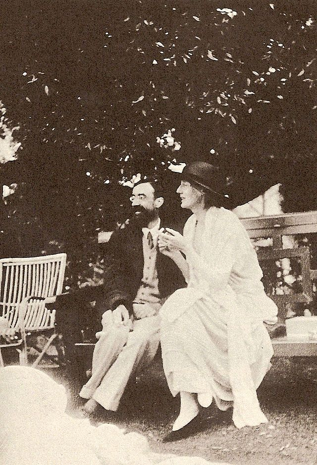 Lytton Strachey and Virginia Woolf