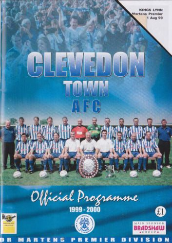 Clevedon Town v King's Lynn Aug 1999