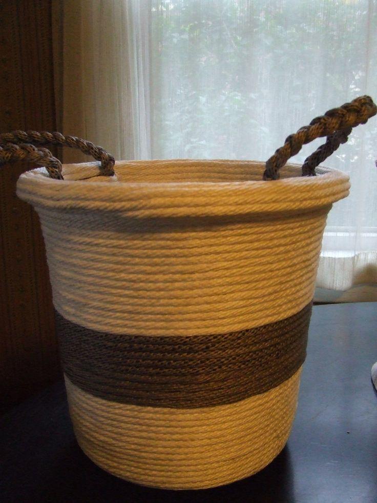 Rope Basket Tutorial