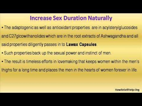 This video describes about increase sex duration naturally so your woman will love you even more.