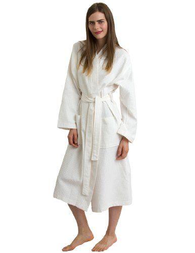 TowelSelections Turkish Bathrobe Waffle Kimono Robe for Women and Men Made in Turkey Small/Medium Ivory TowelSelections http://www.amazon.com/dp/B0058ENCQW/ref=cm_sw_r_pi_dp_Xr7uwb1THPT0F