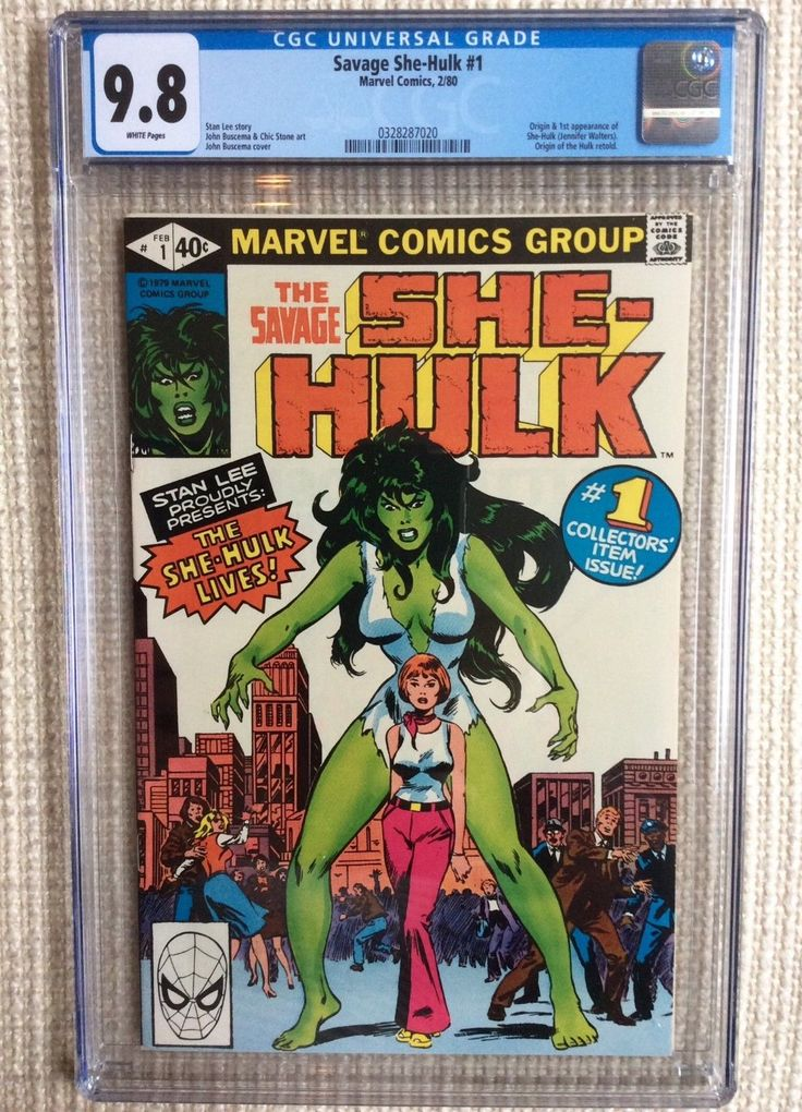 16 best vintage comic books images on pinterest vintage comic savage she hulk 1 cgc 98 stan lee john buscema 1st appearance incredible fandeluxe Image collections