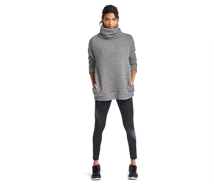 Jacquard Funnel Neck Pullover at Gap, $80