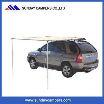 Anti-Mosquito Side Awning Solar Shading Awning with Extension