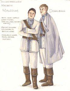 Malcolm Donalbain Macbth Bell Costume Design Disney