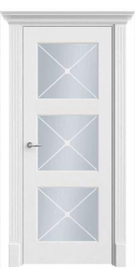Крашенная дверь Белые двери Петербурга. Коллекция ПО Классика 33 Г