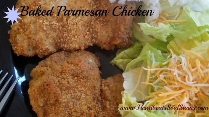 Easy recipe for moist and yummy Baked Parmesan Chicken