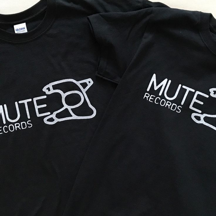 Double Mute #muterecords #depechemode #tshirts