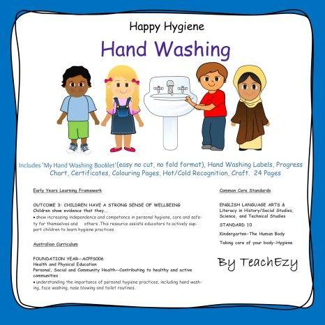 Hand Washing-Happy Hygiene. #EYLF Outcome 3.2 Children ...