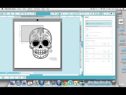 Silhouette Studio - La Vectorisation Automatique - YouTube