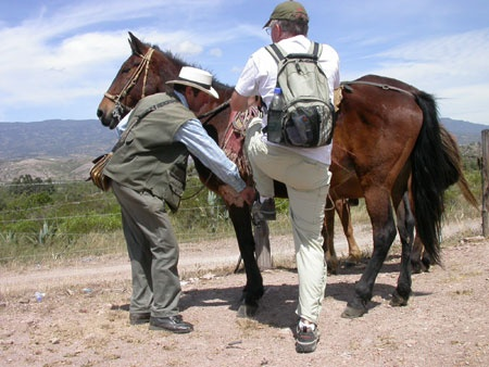 Horse ride outside Villa de Leyva, Colombia (Day 2/3)