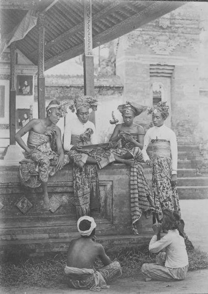 Foto Jadul Bali Puputan Bali.