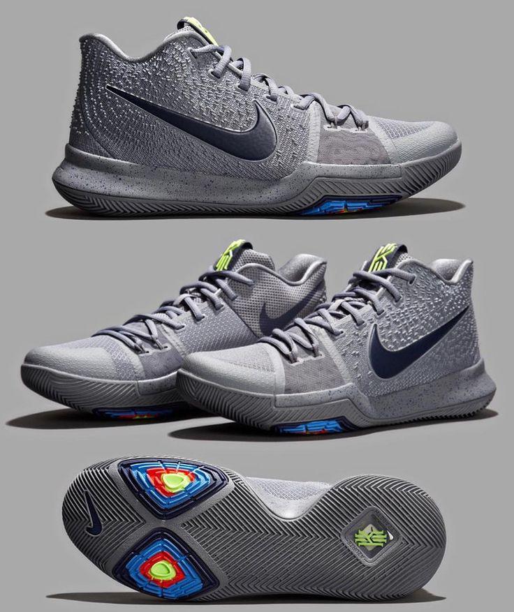 "Cop or Drop? Nike Kyrie 3 ""Cool Grey"" (via @solecollector)"