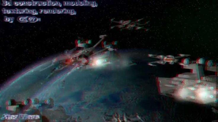 STAR WARS - Video analysis_3D Anaglyph (Stereoscopy)