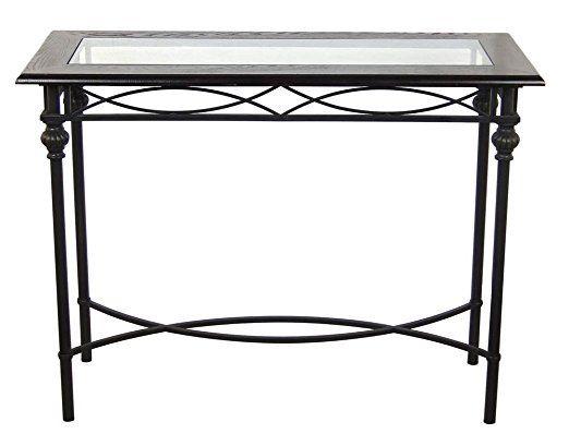 Console Table in Dark Bronze