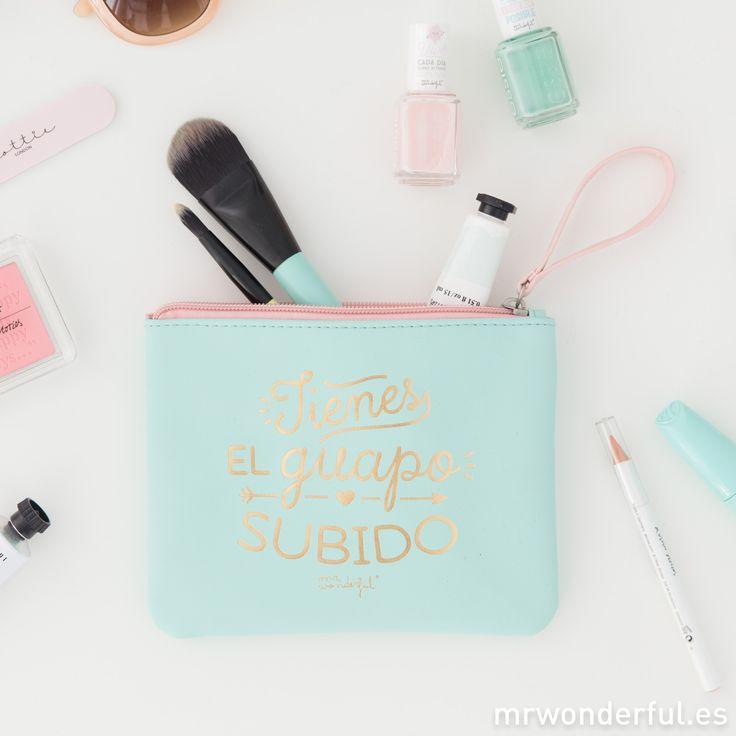 Neceser - Tienes el guapo subido. Un neceser especial para guardar todos tus potingues y tu maquillaje. #mrwonderfulshop #case #beauty
