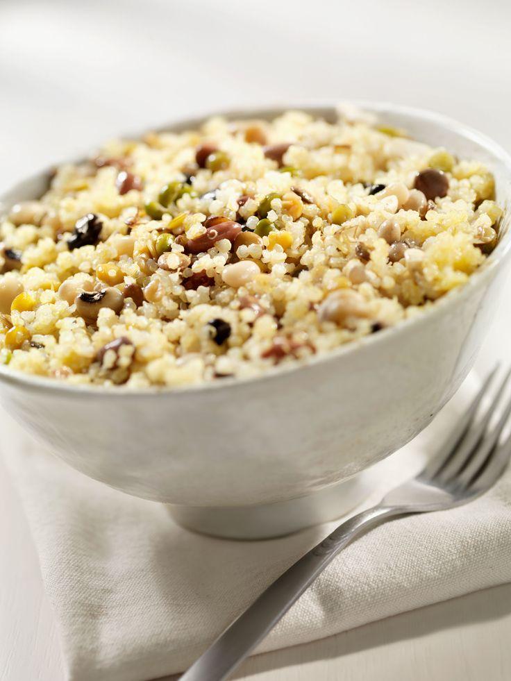Quinoa. Om meer vet te verbranden moet je vezelrijke voeding eten. Deze versnellen je stofwisseling.