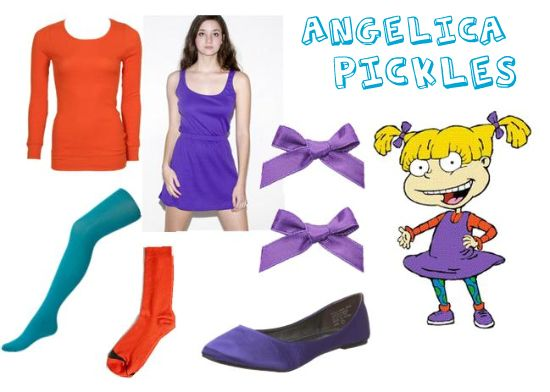 Obsessed!! Someone I know better be Angelica Pickles for Halloween this year.