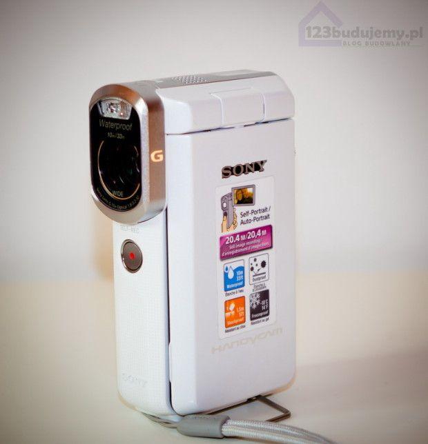 Wodoodporna kamera #Sony #HDR-GW66VE #actioncam sport kamera HD123 Budujemy budowa domu