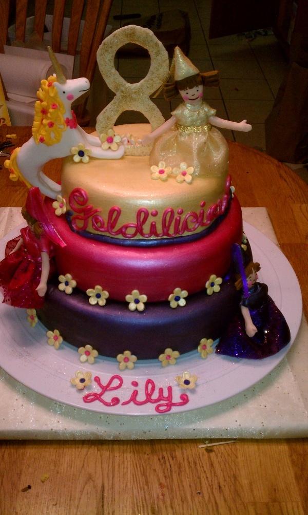 Pinkalicious Cake Images : Goldie Cake Goldilicious (Pinkalicious) Birthday ...
