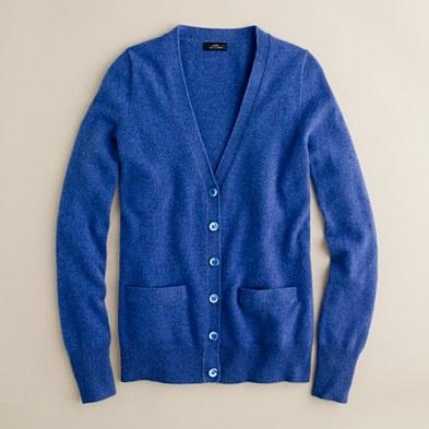 J Crew cashmere cardigan, $198