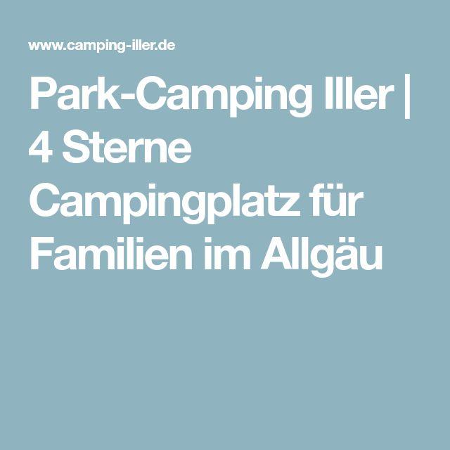 Park-Camping Iller | 4 Sterne Campingplatz für Familien im Allgäu