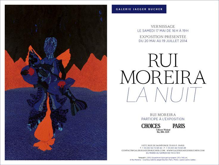 RUI MOREIRA - La Nuit /  Vernissage le 17 mai à partir de 16h - exposition jusqu'au 19 juillet / Opening on Saturday May 17 from 4pm - exhibition until July 19 : http://www.galeriejaegerbucher.com/index.php?page=expo_fiche&id_exposition=77