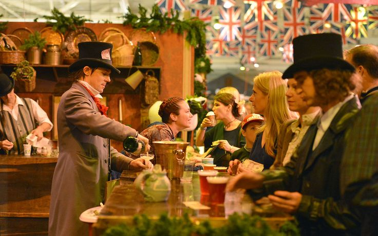 Journey back in time to Victorian London at this fair, where more than 120,000 square feet of space is converted into a miniature…