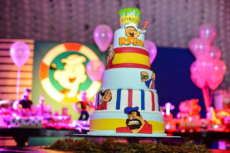 Popeye cake inspiration