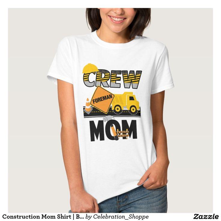 Construction Mom Shirt   Birthday Shirt Dump Truck
