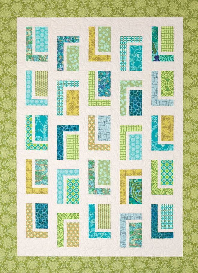 Urban Cabin Quilt Sewing Pattern From Atkinson Designs Quilt Sewing Patterns Beginner Quilt Patterns Vintage Quilts Patterns