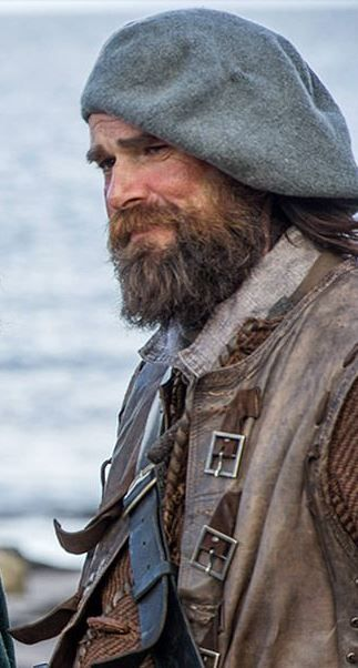 Murtagh . . . Jamie's beloved and faithful godfather. Outlander. I love this character. He is such a nice guy
