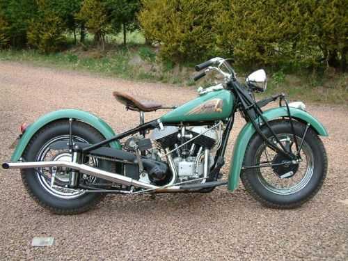 1940 Indian Chief                                                                                                                                                     More