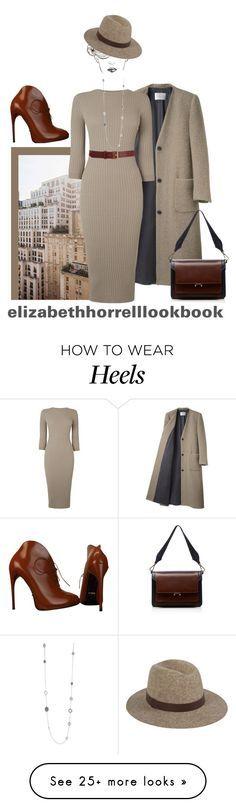 """LIZ"" by elizabethhorrell on Polyvore featuring La Garçonne Moderne, Louis Vuitton, Warehouse, Gucci, Marni, Barneys New York, Kenneth Cole, women's clothing, women's fashion and women"