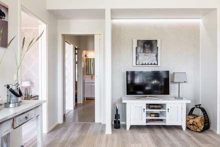 Liukuovijärjestelmä Eclisse Pocket Door säästää tilaa ja antaa modernin ilmeen kotiin. Eclisse Pocket Door. www.k-rauta.fi