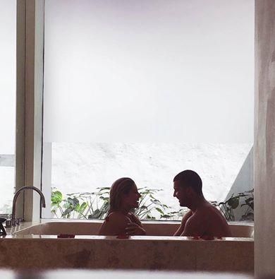 Thank you for being you  #umasapna #privatepoolvilla #bathtub #romantic #awesoma #seminyak #bali #thebalibible #thebaliguideline #balidaily  Image via O l i v i a H a l l