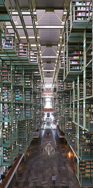 Jose Vasconcelos Library — Mexico City, Mexico | 49 Breathtaking Libraries From All Over The World