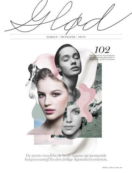 Fashion magazine layout collage illustrations 26+ ideas
