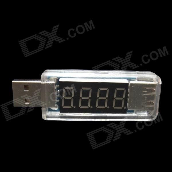 Voltage, current switching display; Measuring range is: DC 3~8V, current: 0~3A, error: 1%; Compact and easy to carry, power free, plug and play; It can easily measure output voltage of the USB port and the device operating current or load voltage. http://j.mp/1ljQnKx