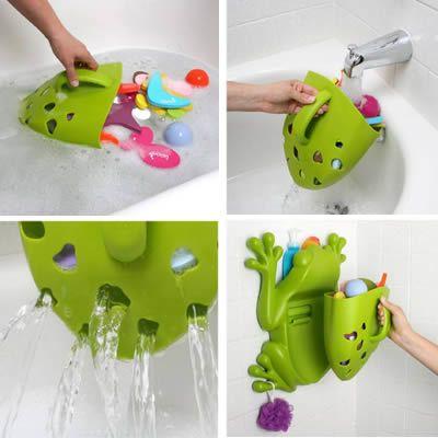 yeşil kurbağa duvar yapışmalı çocuk banyo oyuncakları