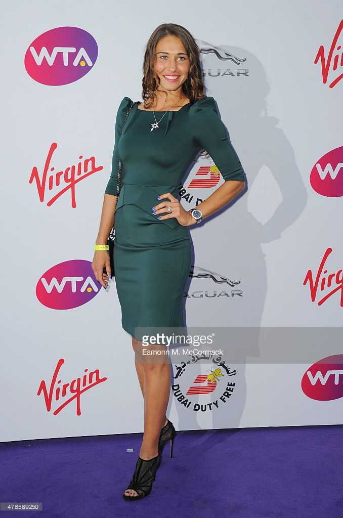 Vitalia Diatchenko attends the annual WTA Pre-Wimbledon Party presented by Dubai Duty Free at The Roof Gardens, Kensington on June 25, 2015 in London, England.