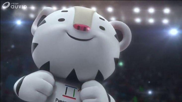 """Inspirées par le tigre blanc et l'ours noir d'Asie, les mascottes des Jeux d'hiver de 2018 de Pyeongchang (Corée du Sud) s'appellent """"Soohorang"""" et """"Bandabi"""".  Le tigre blanc Soohorang est la mascotte des Jeux Olympiques de 2018 etBandabi l'ours brun sera celui des Jeux Paralympiques. Traditionnellement, le tigre blanc est considéré comme un animal gardien sacré dans le pays et sa couleur blanche relie l'animal aux jeux hivernaux. Le nom &..."""