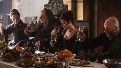 'Outlander' Cast: First Impressions. This is just Cute!!!  This one has when Diana first saw Sam.