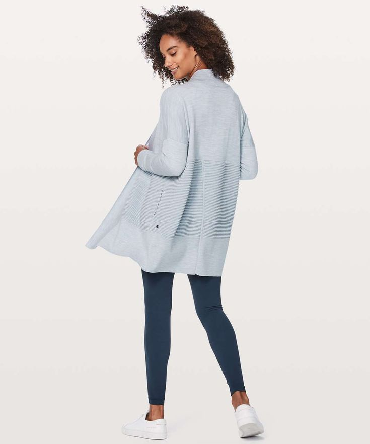 Lululemon Sit In Lotus Wrap II - Heathered Starlight