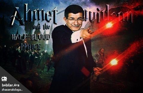 Ahmet Davutoğlu ve Melez Prens / Bobiler.org