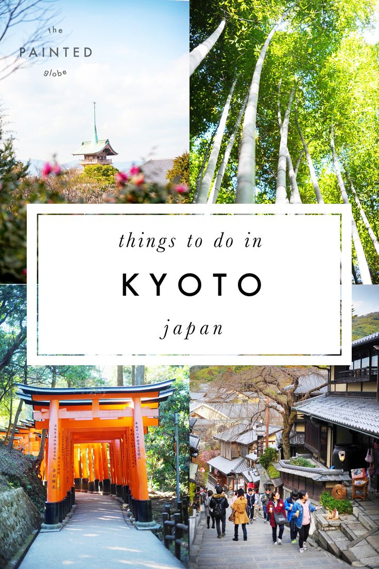 Things to do in Kyoto - The Painted Globe travel blog. --- Featuring Arashiyama bamboo forest, Golden Pavilion, Fushimi Inari Shrine and more. --- Things to do in Kyoto - Visiting Kyoto in Winter - Things to do in Japan - Visiting Japan in Winter - Must do Japan - Must do Kyoto - Japan travel ideas - Kyoto travel ideas - Activities Japan - Activities Kyoto - what to do in Kyoto - what to do in Japan - what to do in Kyoto in 5 days - what to do in Kyoto in 3 days - Temples in Kyoto
