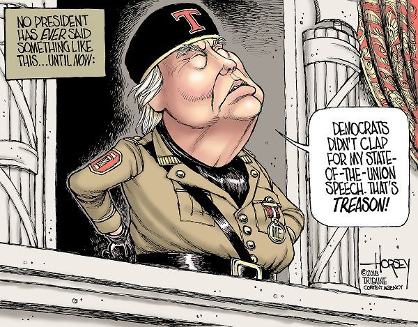 Trump sounds just like a dictator | Political cartoons, Editorial ...