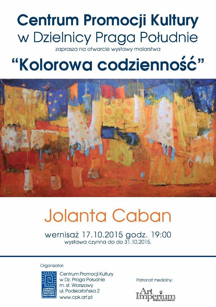 Kolorowa codzienność - wystawa Jolanty Caban w Centrum Promocji Kultury