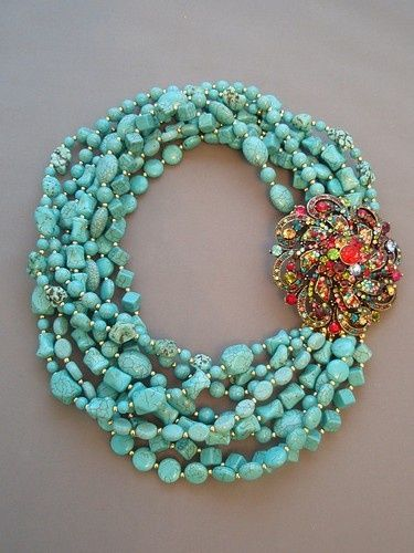 I absolutely love turquoise