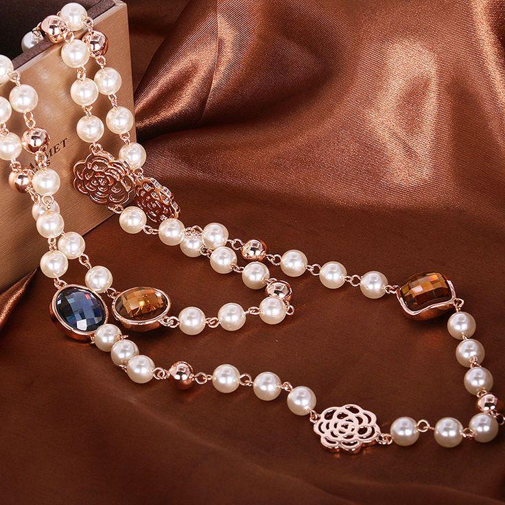 Encontre mais Colares com pingente Informações sobre Hxa195942 luxo elegante cristal colar de liga de zinco 18 K Rose ródio com a áustria cristal bijuterias, de alta qualidade caneta colar, colar de futebol China Fornecedores, Barato necklac de Yilinna Jewelry em Aliexpress.com